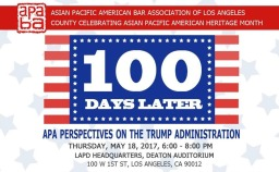 100 Days Later: APA Perspectives on the Trump Administration